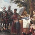 Bouvines King Jogn signs magna carta
