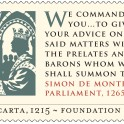 Magna Carta - Simon De Montfort Stamp