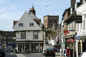 Pictured: St Albans Market Place