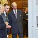 Lord Neuberger (left) and Supreme Court Head of Communications Ben Wilson show HRH The Duke of Kent some of the exhibition panels (credit: Kevin Leighton)
