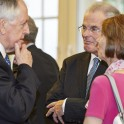 Lord McNally with Lord Dyson, Master of the Rolls, and Chairman of the Magna Carta Trust.