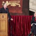 Clive Anderson, and Prof. David Carpenter