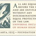 Magna Carta - Universal Human Rights 1948 Stamp